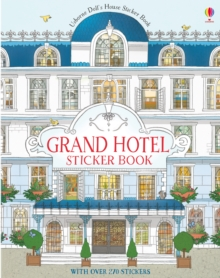 Grand Hotel Sticker Book, Paperback Book