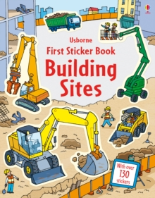 First Sticker Book Building Sites, Paperback Book