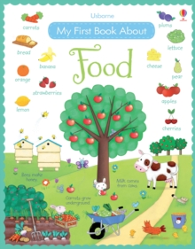 My First Book About Food, Hardback Book