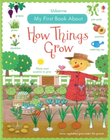 My First Book About How Things Grow, Hardback Book