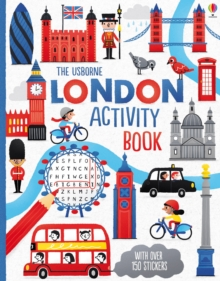 London Activity Book, Paperback Book