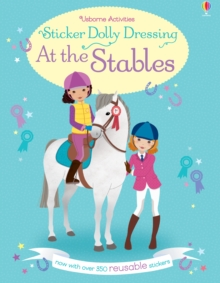 Sticker Dolly Dressing At the Stables, Paperback Book
