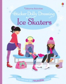 Sticker Dolly Dressing Ice Skaters, Paperback Book