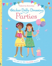 Sticker Dolly Dressing Parties, Paperback Book