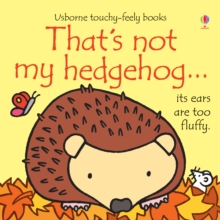 That's Not My Hedgehog, Board book Book
