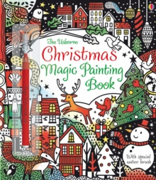 Christmas Magic Painting Book, Paperback Book