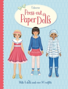 Press-Out Paper Dolls, Hardback Book