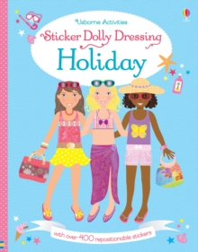 Sticker Dolly Dressing on Holiday, Paperback Book