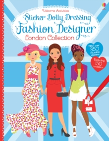 Sticker Dolly Dressing Designer London Collection, Paperback Book