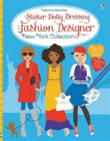 Sticker Dolly Dressing Fashion Designer New York Collection, Paperback Book