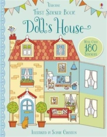 First Sticker Book Doll's House, Paperback Book