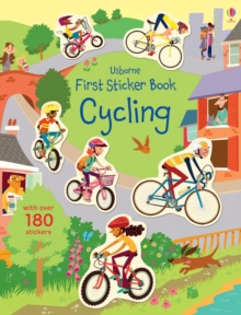 First Sticker Book Cycling, Paperback Book