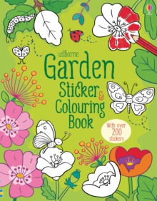 Garden Sticker and Colouring Book, Paperback Book