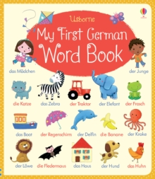 My First German Word Book, Board book Book