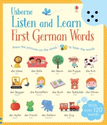 Listen and Learn First Words in German, Board book Book