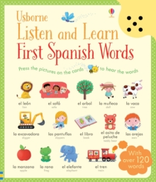 Listen and Learn First Words in Spanish, Board book Book