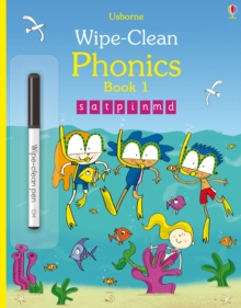 Wipe-Clean Phonics Book 1, Paperback / softback Book