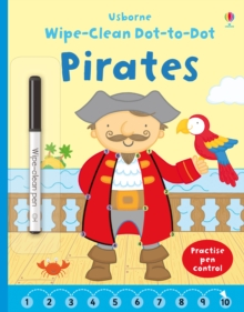 Wipe-clean Dot-to-dot Pirates, Paperback Book