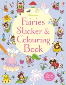 Fairies Sticker & Colouring Book, Paperback / softback Book