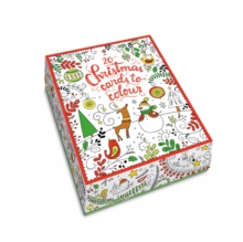 20 Christmas Cards to Colour, Cards Book