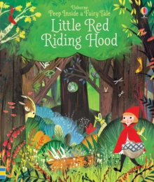Peep Inside a Fairy Tale Little Red Riding Hood, Board book Book