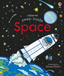 Peep Inside Space, Board book Book