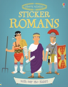 Sticker Dressing Romans, Paperback Book