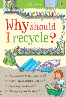 Why Should I Recycle?, Hardback Book
