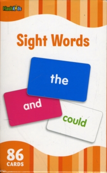 Sight Words (Flash Kids Flash Cards), Cards Book