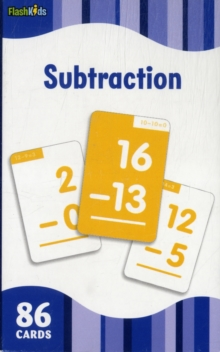 Subtraction (Flash Kids Flash Cards), Cards Book