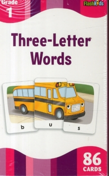 3 Letter Words (Flash Kids Flash Cards), Cards Book