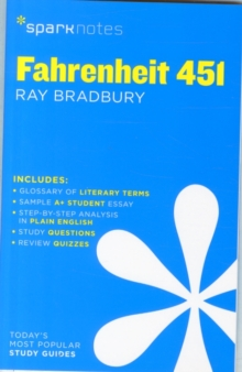 Fahrenheit 451 SparkNotes Literature Guide, Paperback Book