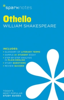 Othello SparkNotes Literature Guide, Paperback / softback Book