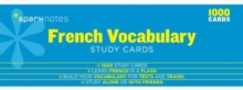 French Vocabulary SparkNotes Study Cards, Cards Book