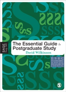 The Essential Guide to Postgraduate Study, Paperback Book