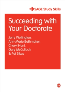 Succeeding with Your Doctorate, Paperback / softback Book