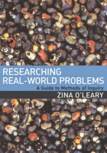 Researching Real-World Problems : A Guide to Methods of Inquiry, Paperback Book