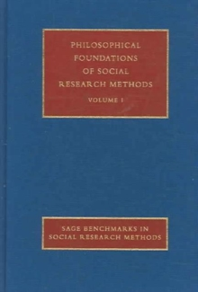 Philosophical Foundations of Social Research Methods, Hardback Book