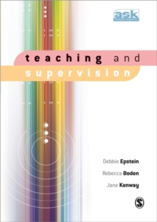 Teaching and Supervision, Paperback Book