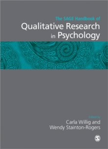 The SAGE Handbook of Qualitative Research in Psychology, Paperback / softback Book
