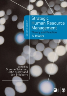 Strategic Human Resource Management : Theory and Practice, Paperback / softback Book