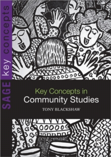 Key Concepts in Community Studies, Paperback / softback Book