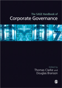 The Sage Handbook of Corporate Governance, Hardback Book