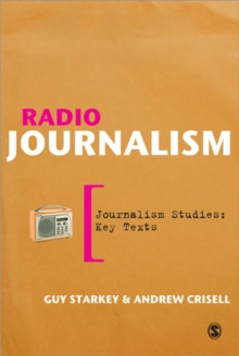 Radio Journalism, Paperback Book