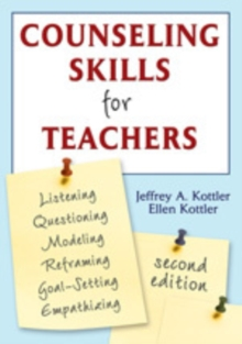Counseling Skills for Teachers, Paperback Book