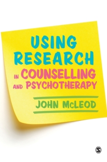 Using Research in Counselling and Psychotherapy, Hardback Book