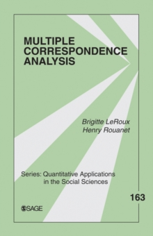 Multiple Correspondence Analysis, Paperback / softback Book