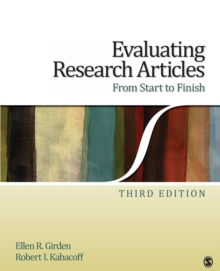Evaluating Research Articles From Start to Finish, Paperback / softback Book