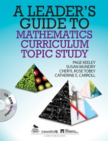 A Leader's Guide to Mathematics Curriculum Topic Study, Mixed media product Book