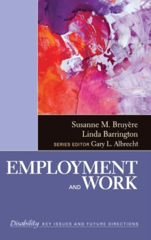 Employment and Work, Hardback Book